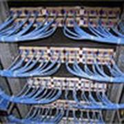 Разработка технической документации и строительство офисных кабельных сетей, обеспечивающих работу офисных приложений, таких как локальная вычислительная сеть, доступ в интернет, телефонная сеть, IP телефония и т. д. фото