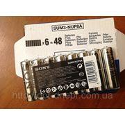 Батарейки Sony R6 фото