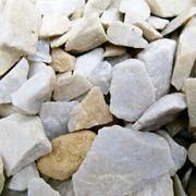 """Камень кварцит крошка 5-20мм. Цвет """"Слоновая кость"""" фото"""