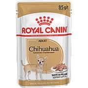 Royal Canin 85г пауч Chihuahua Adult Влажный корм для собак породы Чихуахуа с 8 месяцев (паштет) фото