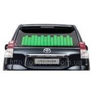 Автомобильный эквалайзер на заднее стекло 45x11см Зеленый фото