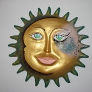 Панно большое Солнышко фото