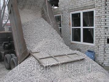 насыпной бетон