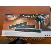 Микрофон, радиомикрофон MIAMIC DM-2009 на два микрофона фото