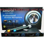 Shure PG3-2020 2 радиомикрофона фото