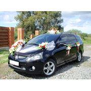 Прокат автомобиля на свадьбу с украшением фото