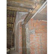 Демонтаж несущих кирпичных стен с усиление металлом согласна проекту фото