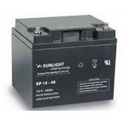 Аккумулятор SUNLIGHT SP12-40, 12В 40 А*ч фото