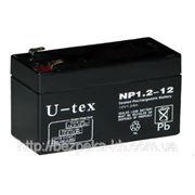 Аккумулятор U-tex 12В / 1,2 Ah фото