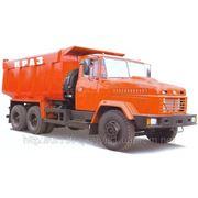 Перевозка самосвалом КРАЗ 6510. фото