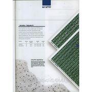 Сетка пластиковая фасадная для ограждения строительных лесов Джамайка Про (темно-зеленая) в рулонах 2*100 мп фото