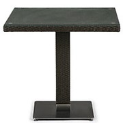 Плетеный стол T606SWT-W53-80x80 Brown фото