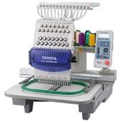 Тoyota ESP-9100 Вышивальный автомат,одноголовочный, 15-ти игольный. Максимальный размер вышивки 360 х 500 мм, скорость 1200 ст/мин, память 280 тыс. стежков фото