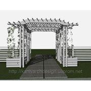 Дизайн-проект перголи туристичного комплексу «КНЯЖА ГОРА» фото