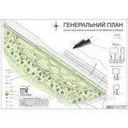Генплан скульптурного сквера «Шевченкова алея» в м. Каневі фото