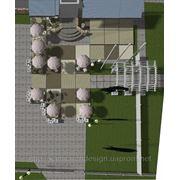 Дизайн-проект літнього кафе для туристичного комплексу «КНЯЖА ГОРА» фото