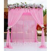 Свадебная арка прямоугольная фото