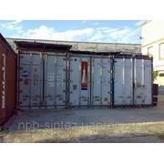 Рефрижераторные контейнеры 40 футов. Аренда фото