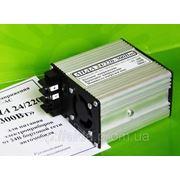 Инвертор «АИДА 24/220-300Вт» из =24В в ~220В мощностью до 300Вт в автомобиль для ноутбука и др. фото