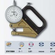 Толщиномер INTERAPID для измерения толщины пленок, цена деления шкалы 0,001 мм фото