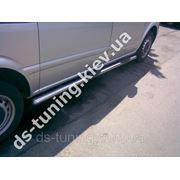 Подножки труба Nissan X-Trail фото