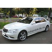 Аренда прокат авто Mercedes W221 S550 Long белый цвет фото