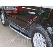Подножки площадка Land Rover Sport фото