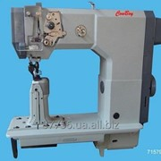 HIGHTEX 71579 Одноигольная колонковая швейная машина для пошива обуви и изделий из кожи фото