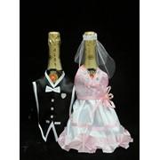 Одежда на шампанское №1 розовая фото