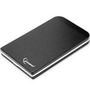 Корпус для HDD 2.5 SATA Gembird EE2-U2S-42 до 750 Гб, алюминиевый, чёрный, usb 2.0 фото