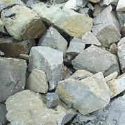 Камень бутовый серый фото