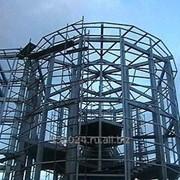 Изготовление металлоконструкции для жилищного строительства фото