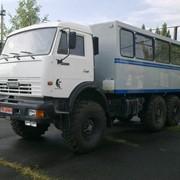 Специализированный вахтовый автомобиль ФПВ-26628 на шасси КаМАЗ-43114 фото
