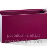 Умный вазон Cubico Flower Lover 42x21x21 глянцевый PLASTKON Пурпурный фото