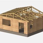 Деревянно-каркасный дачный домо-комплект 30м2 фото
