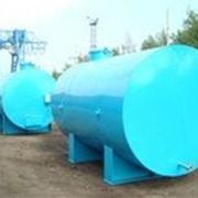 Емкости металлические, резервуар топлива, бочки ГСМ. фото