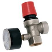 Клапан предохранительный (пружинный) с манометром фото