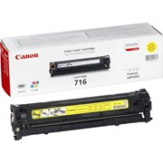 Восстановление картриджа Canon Cartridge 716 Yellow
