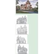 ПРОЕКТ КОТТЕДЖА G-272-1D, Проектирование домов фото