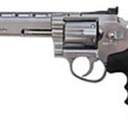 Револьвер пневматический ASG Dan Wesson 6 Silver пулевой 4,5 мм 17611 фото