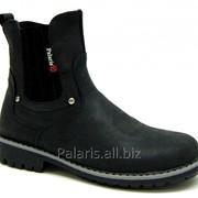 Ботинки черные, арт. 1768-220616 фото