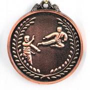 Медаль Карате бронза фото