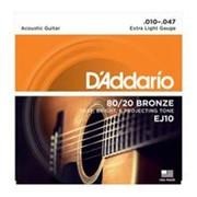 Струны D#39-Addario Ej-10 Extra Light фото