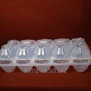 """Пластиковый контейнер для яиц П-12 """"Десятка"""" фото"""