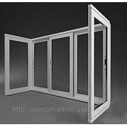Раздвижные окна, двери. фото