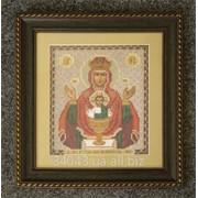 Оформление иконы с паспарту Багет №31 фото