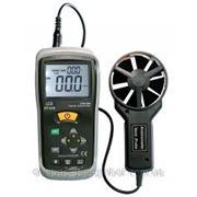 Измеритель скорости, объемного расхода воздуха и температуры фото