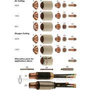 020616 (Т-0375) Сопло / Nozzle 100А Кислород Hypertherm MAX 200