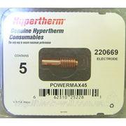Электрод/Electrode 220669 для Hypertherm Powermax 45 оригинал (OEM) фото