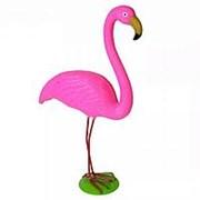 Фигура фламинго 50 см 205-4 пластик железо фото